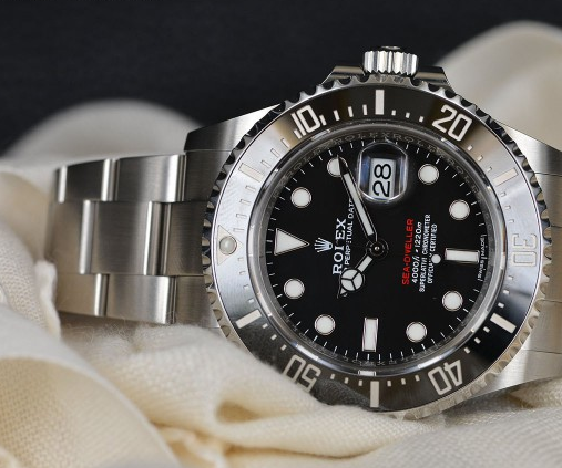Classic red words Rolex Oyster replica watches